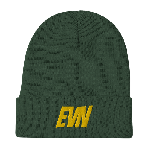 """EVN""  Beanie - Forest Green"