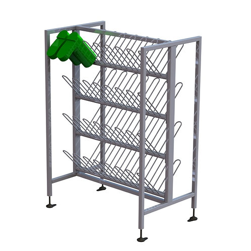 Short Double Sided Welly Rack