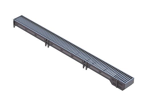 6.4m Powered Roller Conveyor