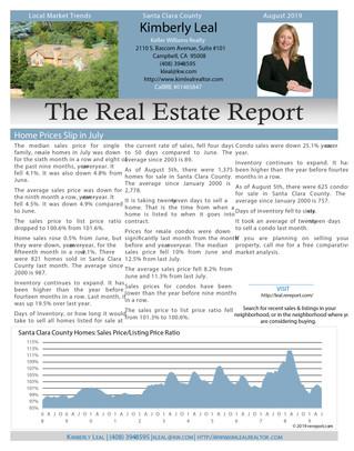 August Market Trends Report 2019