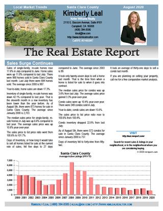 Market Trends Report - August 2020