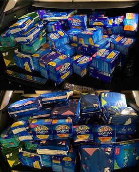 menstrual product donation