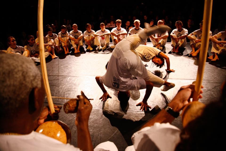 London School of Capoeira Batizado 2010, Mestre Marcos e Professor Dudu