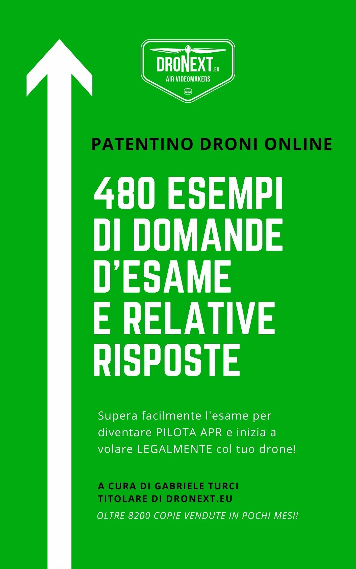 PATENTINO ONLINE DRONI DOMANDE D'ESAME