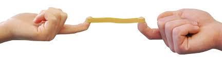 Opletten met de elastiekschenking !