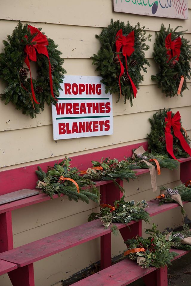 christmas wreaths crossroads farm