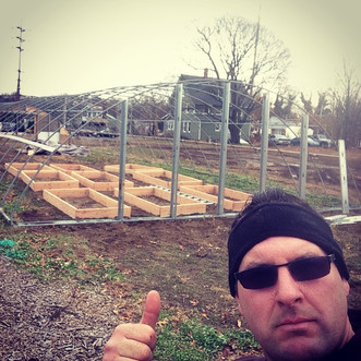 Hoop House Construction -- March 21st at noon