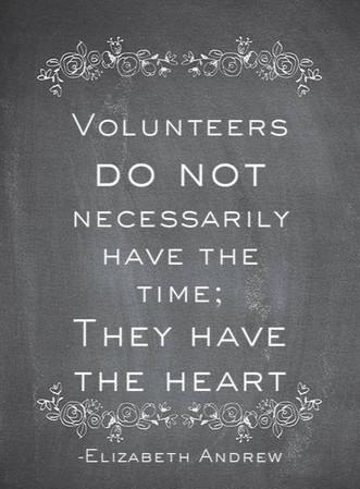 Calling All Past Volunteers!