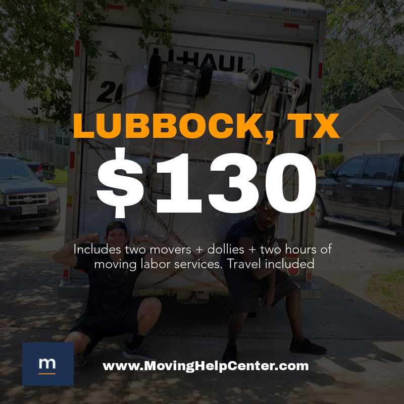 moving help in lubbock tx