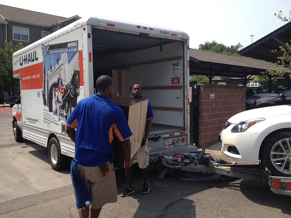 hire a helper moving rental truck