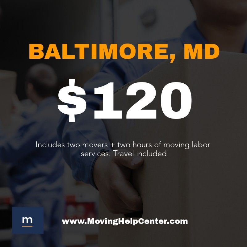 moving labor help baltimore