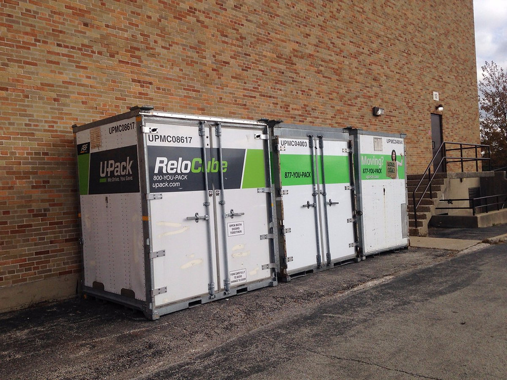 portable storage moving quote