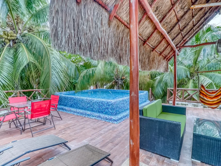 Dog-friendly Home w/ Rooftop Pool for Rent - Playa Del Carmen