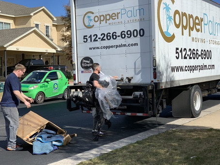 Three Hours of Moving Services with Two Movers and Truck for $290
