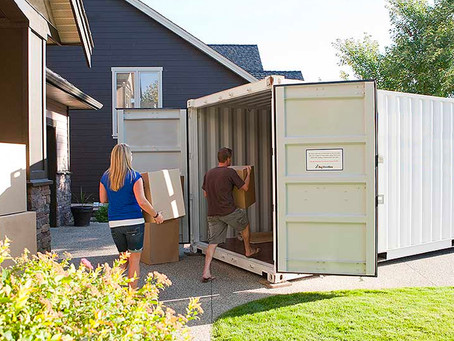 Movers to Load Portable Storage Containers (Available)