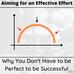 Why Aiming for an Effective Effort Will Get You Farther Than You've Been Before