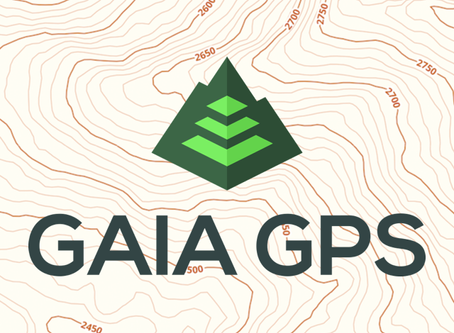 Gaia GPS: The best GPS app you've never heard of and how it can change your nutrition game.