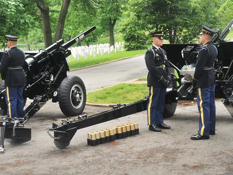 Origin of the 21-Gun Salute