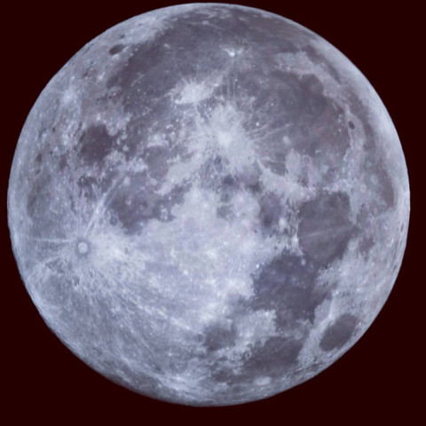 The last full moon of the decade