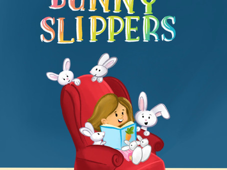 """My second book """"Fuzzy Bunny Slippers"""" is now available on Amazon"""