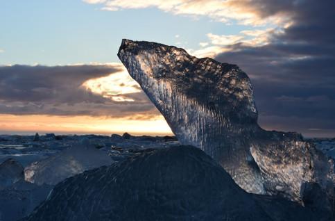 Diamond Beach Ice - Iceland 2018