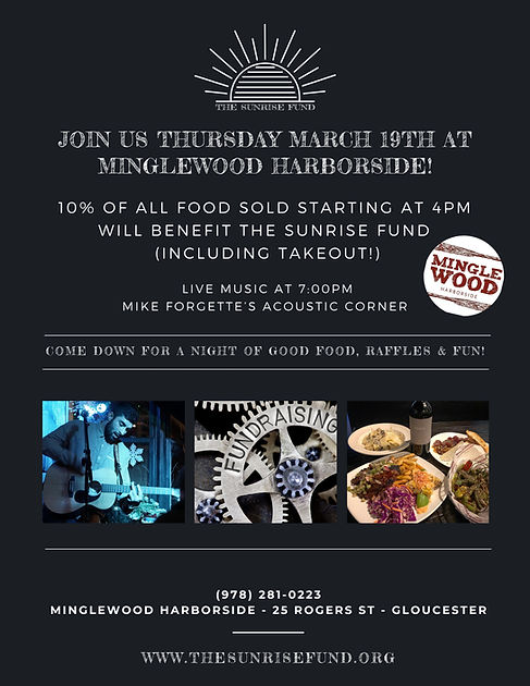 Join us Thursday March 19th at Minglewoo