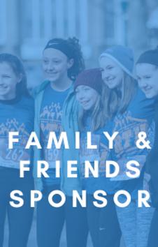 Friends & Family Sponsor