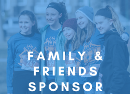Friends & Family Sponsor