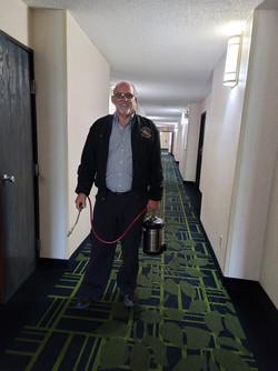 Danny J Belisle SR. Treating a Hotel.