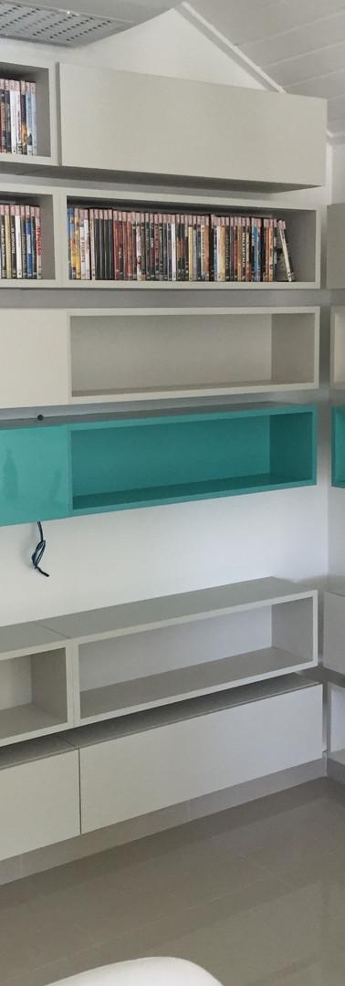 estante para coleção
