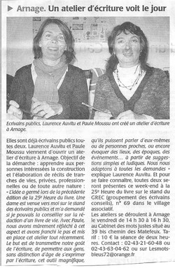 Ouest France oct. 2010