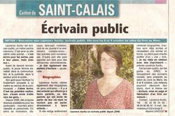 Echo vallée du Loir 6/10/2011