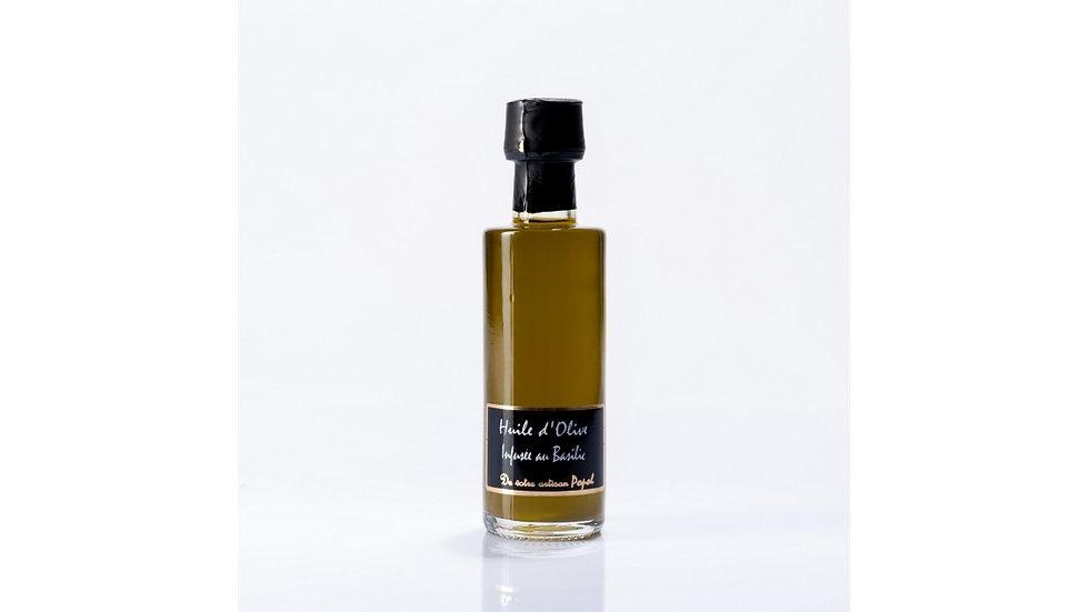 Huile d'olive infusée au Basilic