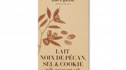 Tablette lait noix de Pécan & Cookie