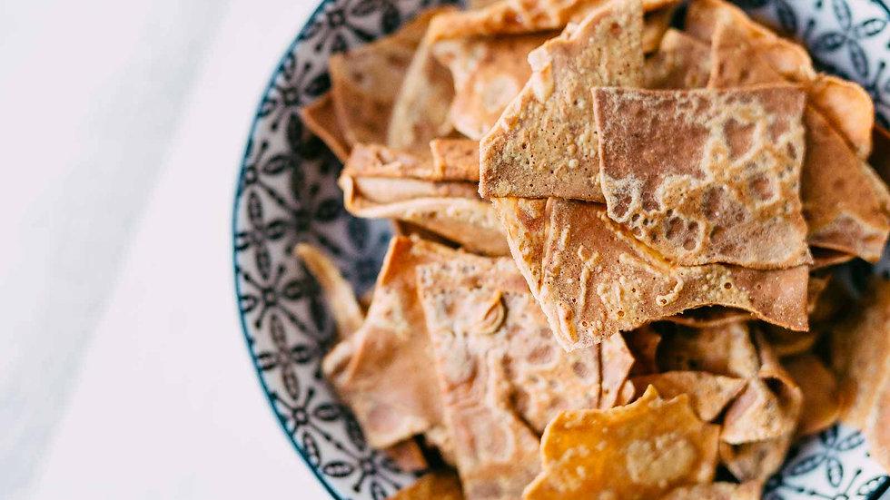 Chips de crèpes