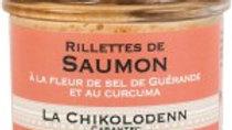 Chikolodenn : Rillettes de Saumon sauvage ( 90g )