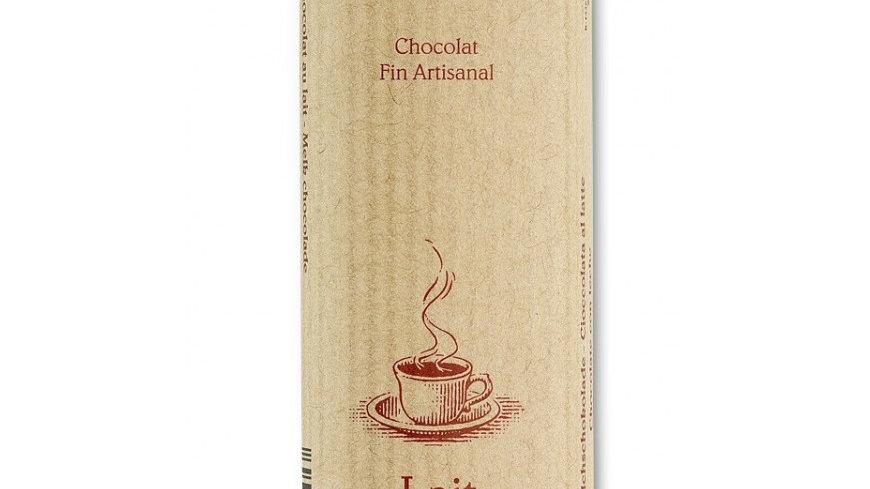 Barre de chocolat au lait