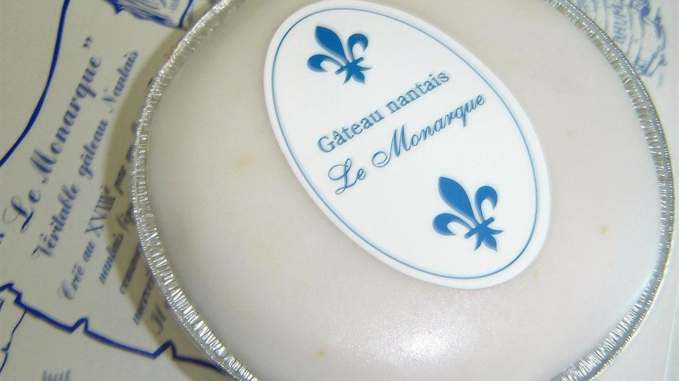 """Gâteau Nantais """" Le Monarque """" : 8 personnes"""