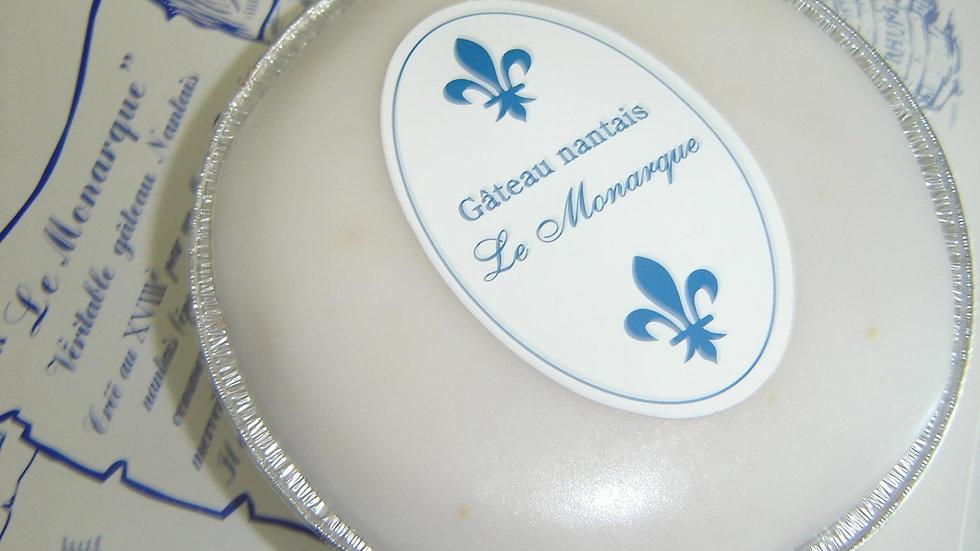 """Gâteau Nantais """" Le Monarque """" : 1/2 personnes ( 130g )"""