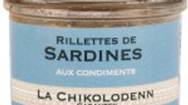 Chikolodenn : Rillettes de sardines ( 90g )
