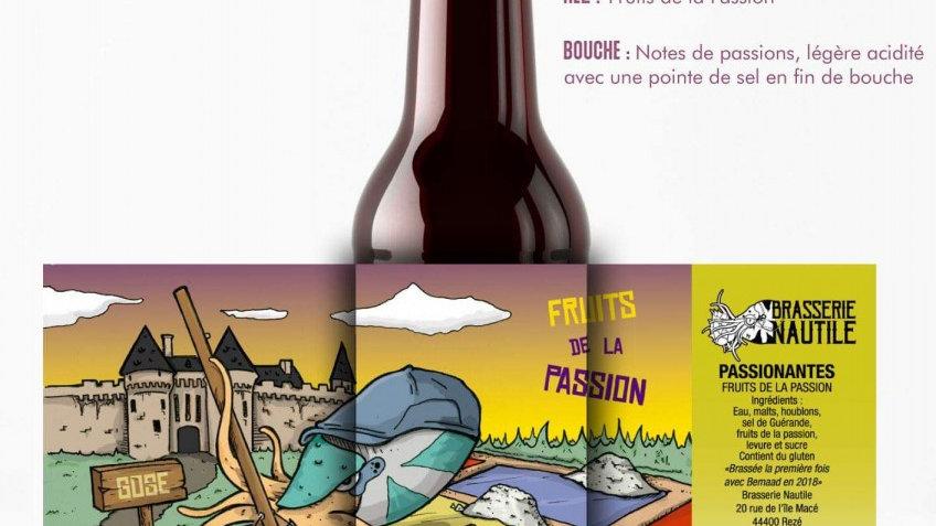 """Bière artisanale  Nautile """" Passionantes """""""