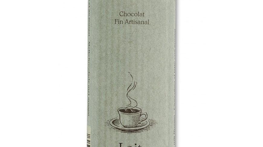 Barre de chocolat lait & éclats de nougat