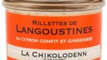 Chikolodenn : Rillettes de Langoustine ( 90g )