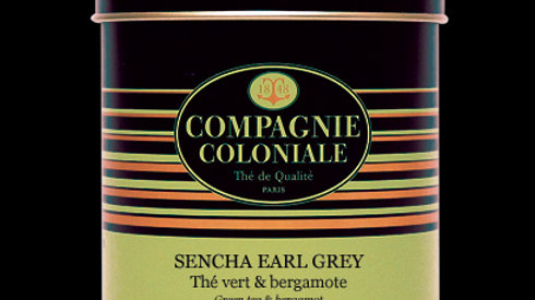 Thé vert : Sencha Earl Grey ( 100g )