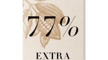 Tablette chocolat extra noir 77%