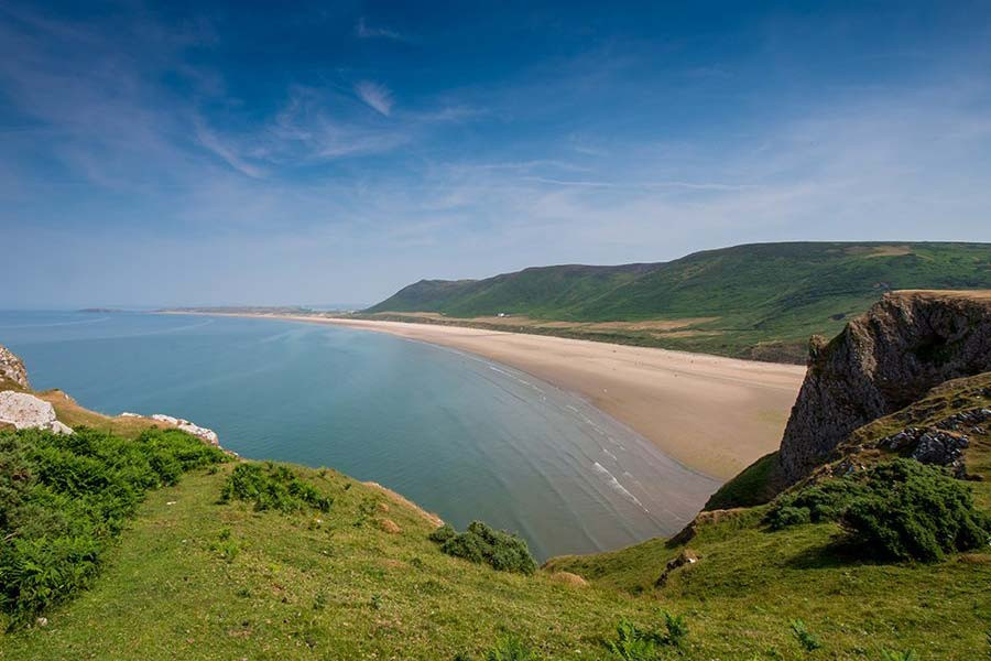 The Gower Peninsular