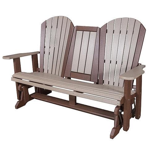 "Adirondack 60"" Glider Bench"