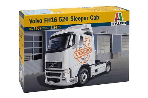Kit para montar Cavalo Mecânico Volvo FH16 520 Sleeper cab - 1/24 - Kit Italeri