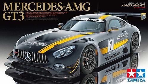 Kit para montar Mercedes-Benz AMG GT3 - 1/24 - Tamiya