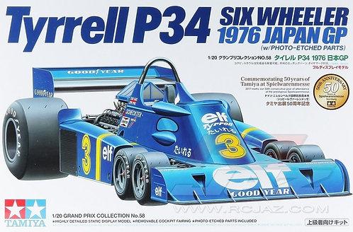 Tyrrell P34 Six Wheeler - 1/20 - Kit Tamiya